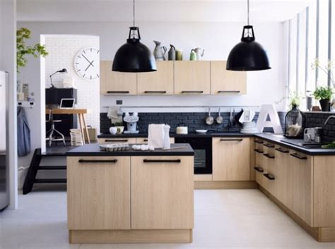 cuisine hygena cuisine avec petit ilot cuisine en image