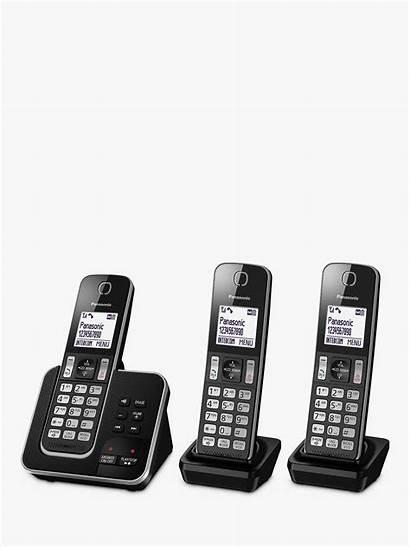 Cordless Phone Machine Panasonic Call Kx Digital