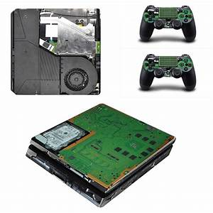 Ps4 Slim Full Body Skin Sticker Decal For Playstation 4