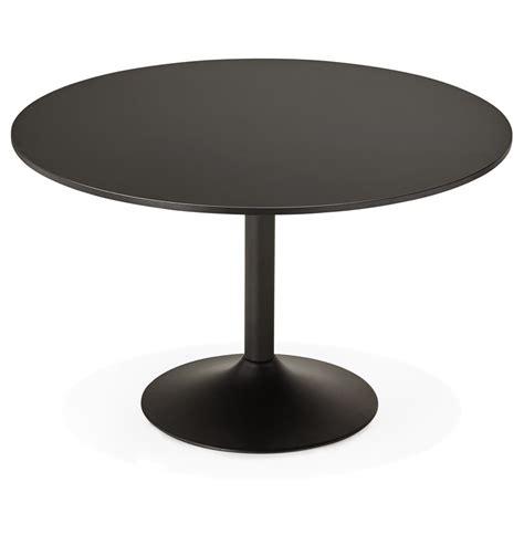 ronde zwarte eettafel ronde zwarte bureautafel atlanta 120 cm eettafel