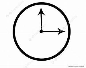 Clock Face Illustration