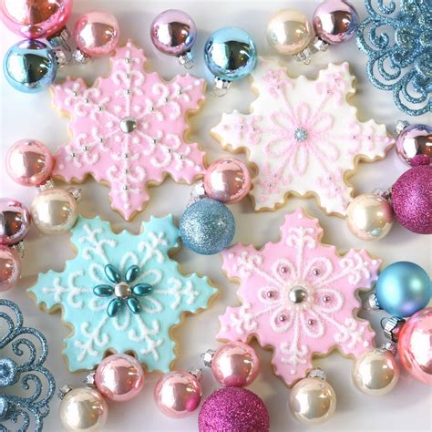 vintage pastel christmas glorious treats