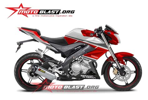 Z 250 Modif by Modif Striping Yamaha New Vixion 2014 Dari Standar Sai