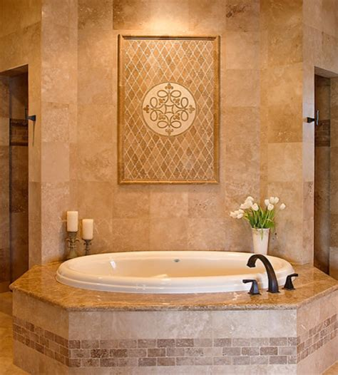 Tiling A Bathtub Area by Master Bath Tub And Shower Area Traditional Bathroom