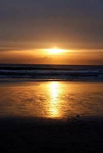 Panoramic sunset scenery Stock Photo - 1677764 | StockUnlimited