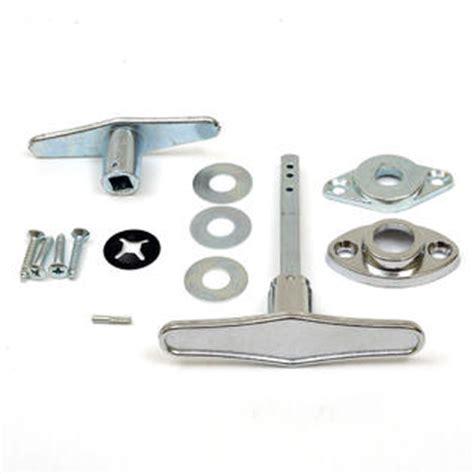 garage door dummy t handle 137460 non locking dummy t handle set for garage door