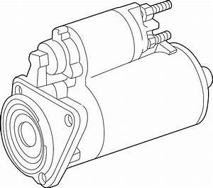Volkswagen Cabrio Starter Motor  Trans  New  Liter