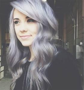 grey and purple | Violet hair, Lavender hair, Hair color