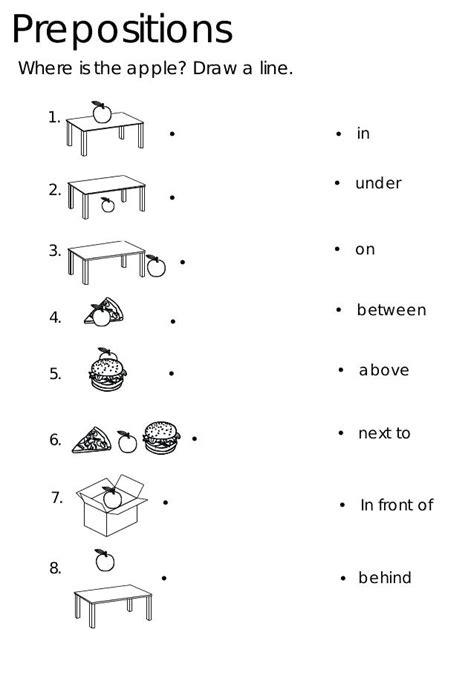 esl kindergarten alphabet worksheets