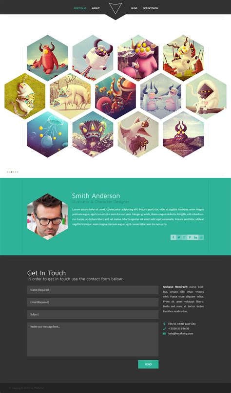 Website Designs Free Template Hexal Psdchat