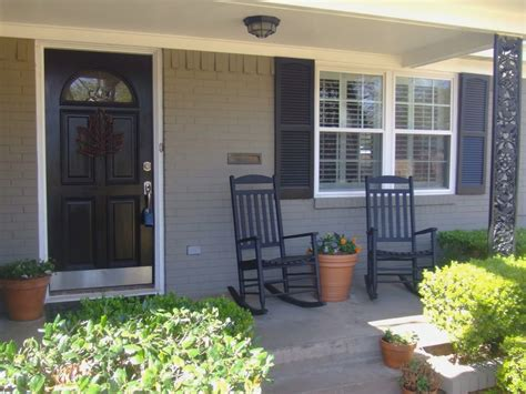 I am so bad about sharing projects. Painting Brick House Before After Pictures | Brick exterior house, Painted brick house, House ...