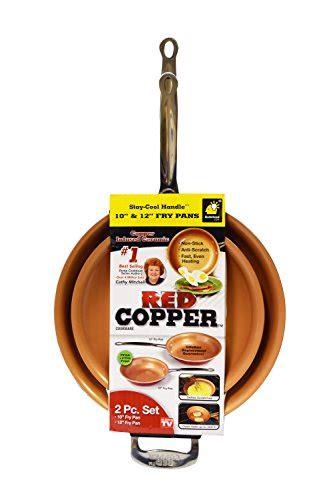 red copper cookware     frying pan set    bulbhead  cookware channel