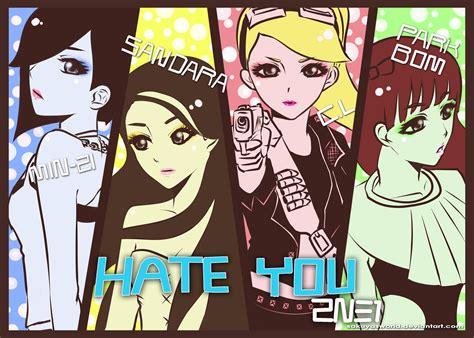 Kpop Anime Wallpaper - 2ne1 k pop pop korean korea anime h wallpaper