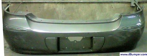 buick lacrosse cxcxlcxs wchrome pkg wo object sensor rear bumper cover bumper