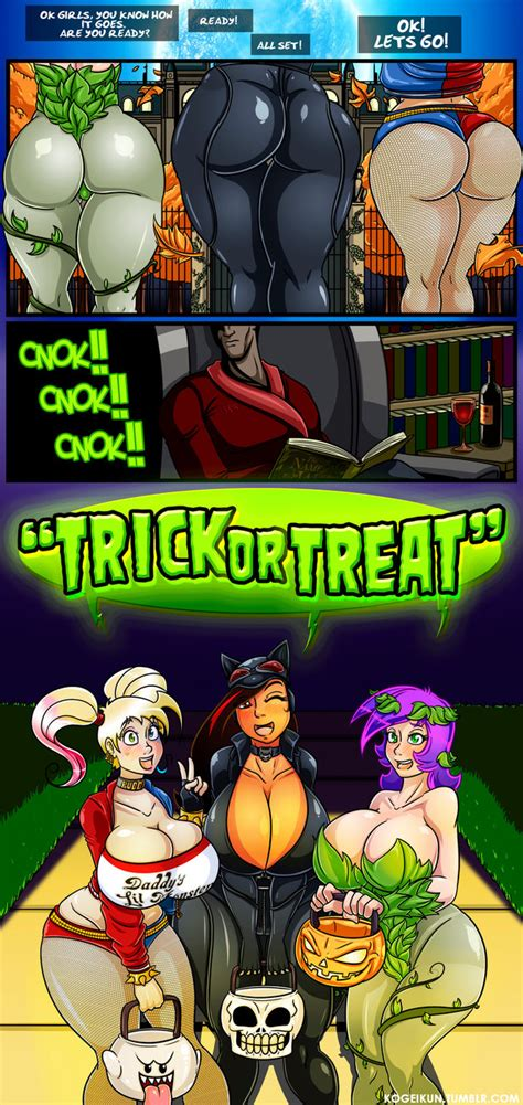 Trick Or Treat By Kogeikun On Deviantart