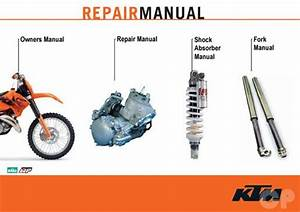 Official 1999-2010 Ktm 125 144 150 200 Two-stroke Manuals