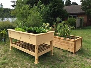 Bac Bois Potager : bac jardin teciverdi ~ Melissatoandfro.com Idées de Décoration