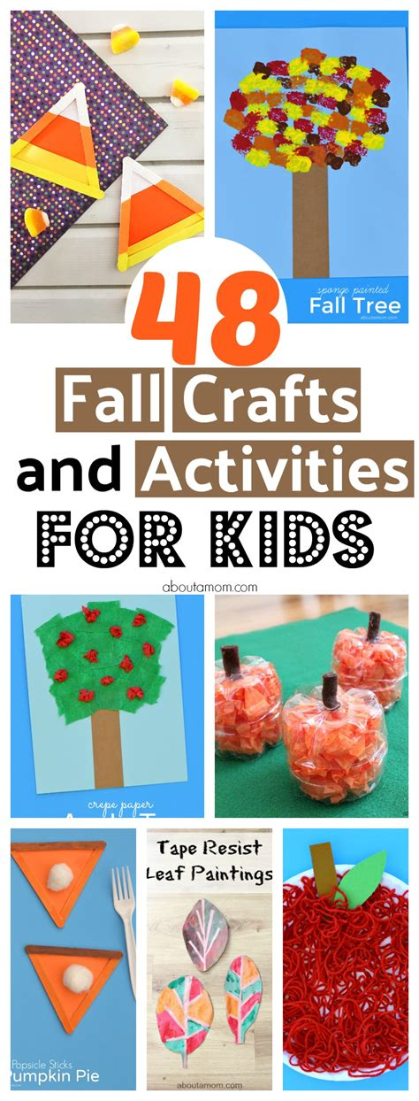 48 Fun Fall Crafts And Activities For Kids  About A Mom