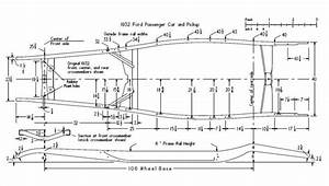 1934 Ford Frame Dimensions