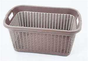 Paniere A Linge Plastique : panier a linge rotin regarder environ 20 l baignoire ~ Dailycaller-alerts.com Idées de Décoration