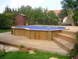 Piscines Semi Enterrées : montpellier 34 piscine standard semi enterr e et terrasse ~ Zukunftsfamilie.com Idées de Décoration
