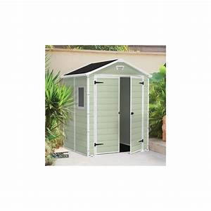 Abri De Jardin Keter : abri de jardin en r sine vert 2 8m plancher keter ~ Dailycaller-alerts.com Idées de Décoration