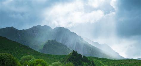 mountain landscape range mountains background sky peak