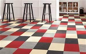 Fliesen Mit Muster : sch n k chenboden fliesen aus linoleum mit mehrfarben muster ~ Michelbontemps.com Haus und Dekorationen