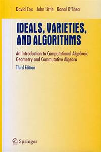Math 191: Algorithms for Elementary Algebraic Geometry