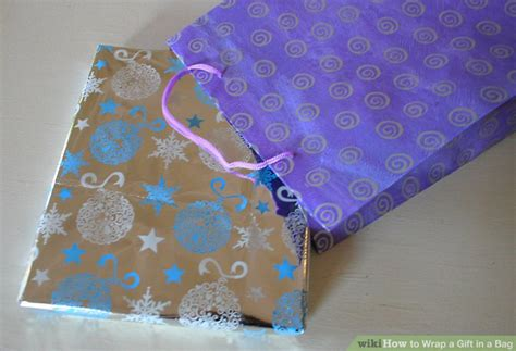 How To Wrap A Gift In A Bag 6 Steps (with Pictures) Wikihow