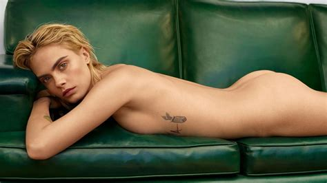 Cara Delevingne Fappening Nude For Marie Claire The
