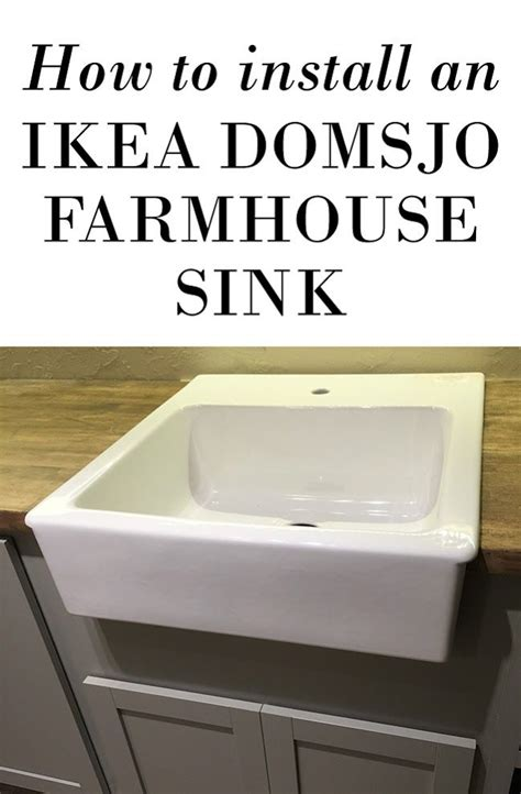 installing farmhouse sink in existing cabinets domsjo ikea sink installation nazarm com