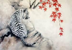 White tiger by IrenaDem on DeviantArt