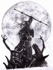 Aliens versus Predator by CatapultedCarcass on DeviantArt