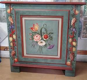 Peinture Sur Meuble : meuble peint sur commande meubles peints en 2019 pinterest ~ Mglfilm.com Idées de Décoration
