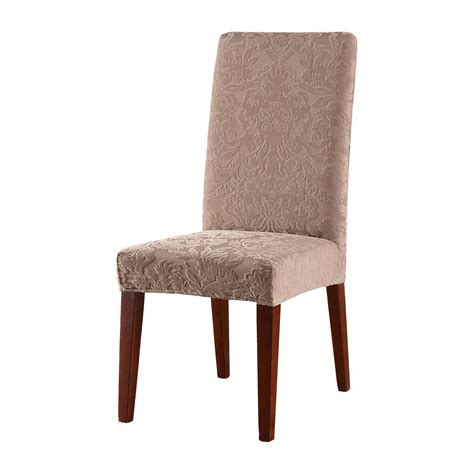 Target Dining Room Chair Slipcovers by Stretch Jacquard Damask Short Dining Room Chair Cover