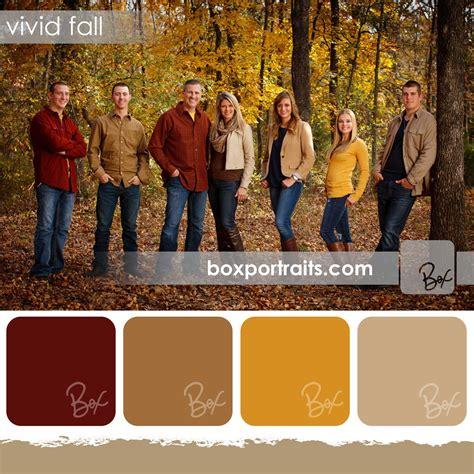 color schemes for family photos fall family portrait color schemes ideas