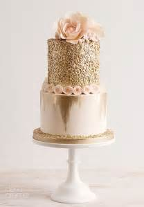 gold wedding cake blush wedding 23 impossibly ideas