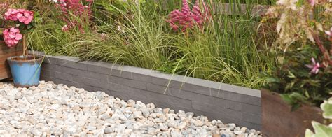 garden design with edging ideas on bradstone
