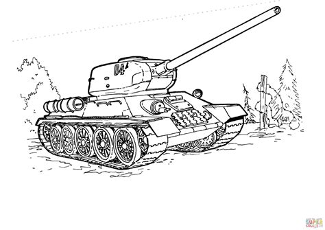 tank coloring page  printable coloring pages