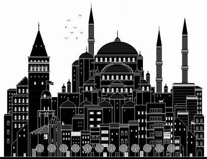 Animated Boglio Gifs Towns Istanbul Architecture 2048