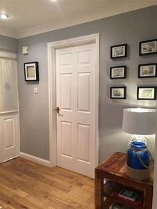 dulux chic shadow is absolutely beautiful i spent awhile With best brand of paint for kitchen cabinets with wall art ideas for hallways