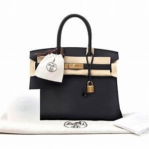Shop New Women's Hermes Birkin Bag 30cm in Black Togo Leather  Hermes