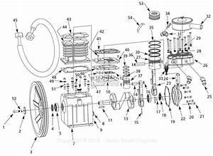 Campbell Hausfeld Fp050000av Parts Diagram For Pump Parts