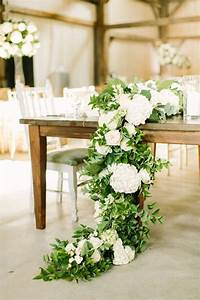 Refreshing, Spring, Wedding, Garland, With, Green, And, Ivory, Color, Theme, Decoration, Over, The, Walls
