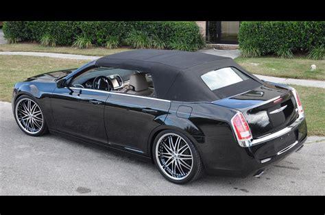drop top customs renders chrysler  sedan roofless