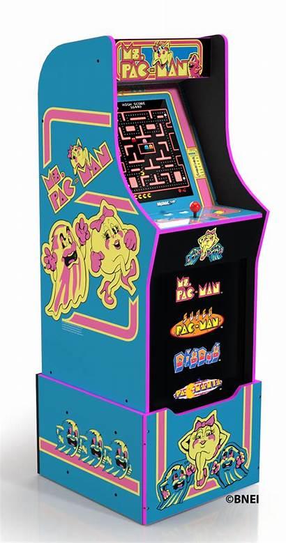 Pac Arcade Ms Arcade1up Cabinet Riser Mspacman