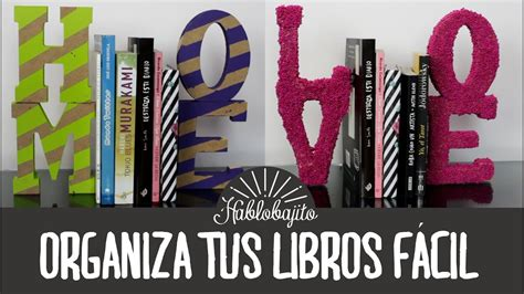 ideas  decorar tu cuarto organiza tus libros