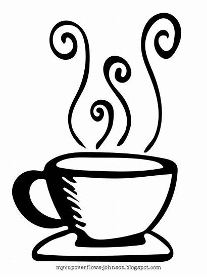 Steam Drawing Tea Cup Teacup Coffee Clipart