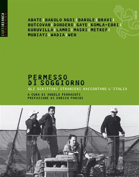 stranieri in italia permesso di soggiorno permesso di soggiorno ediesse